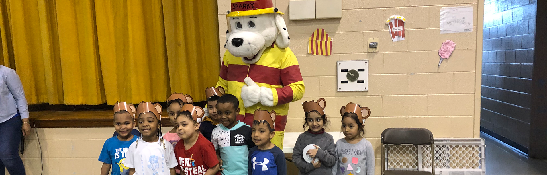 CECC students learn about fire safety