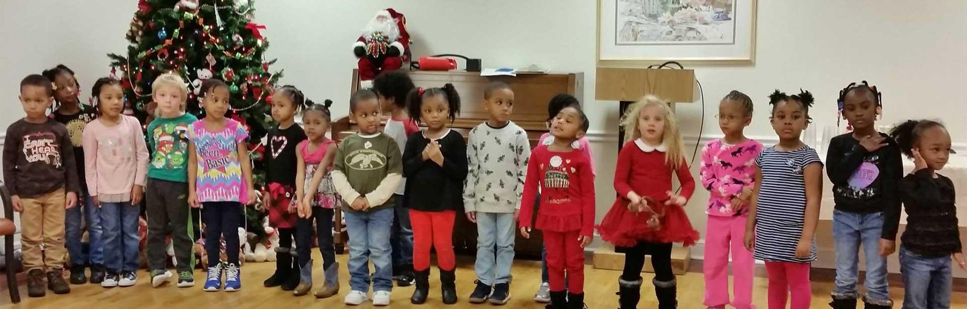 cecc children sing at kings grant